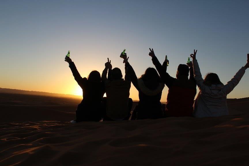 Excursõeso de aserto de Marraquexe, Tours de Fez ao deserto