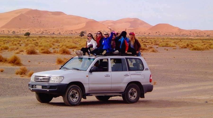 Excursõeso Deserto de Marraquexe, Tours de Fez ao deserto